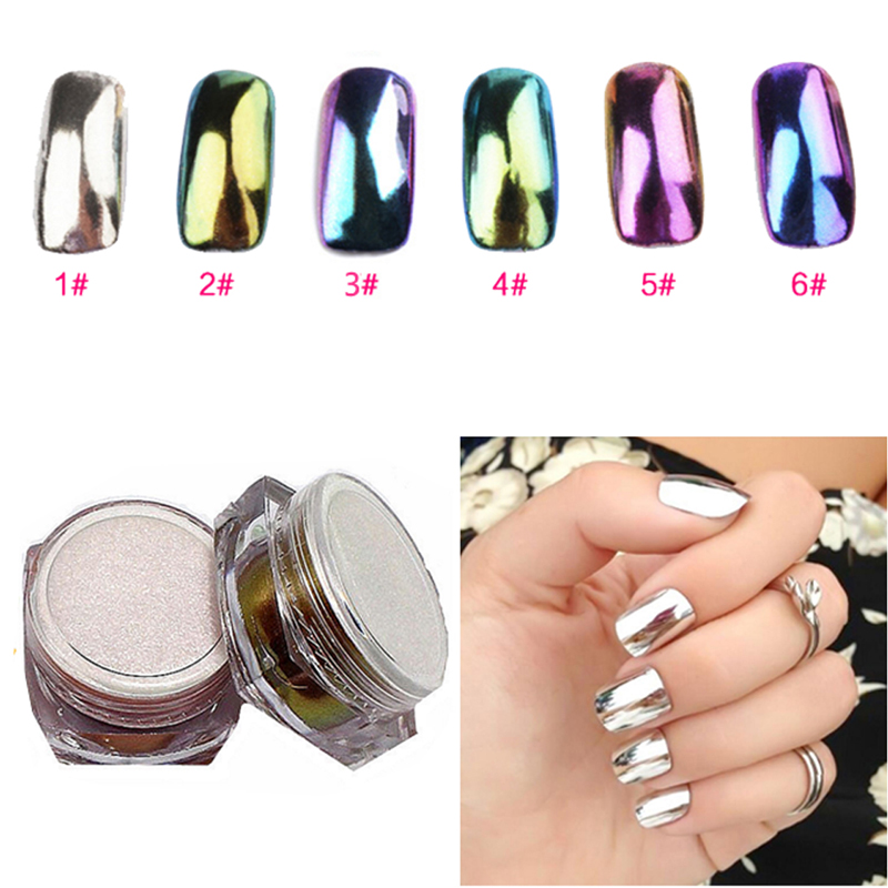 Soft 10pc Set Makeup Brush With Package Name Prettydiva 6pcs 2g Mirror Nail Glitter Powder
